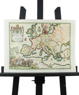 Carte de l'Europe en 1807 (Napoléon)