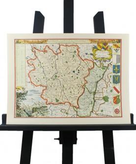 Carte d'Alsace et Lorraine