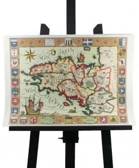 Carte du Duché de Bretagne