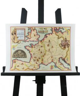 Carte des Eglises romanes