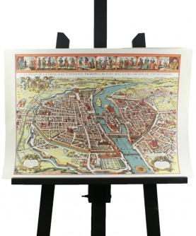 """Map of """"Grand Paris"""" in 1630"""