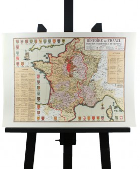 """""""History of France"""" map"""