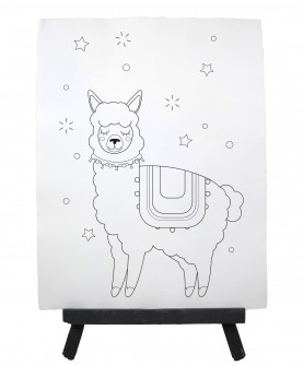 Drawing ready to paint LAMA