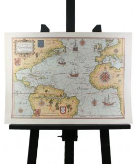 Carte du Nouveau Monde