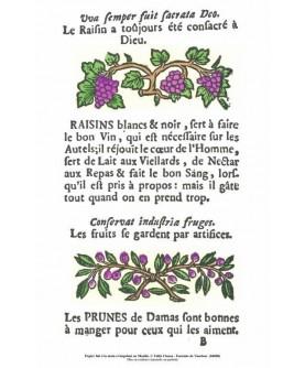 "The ""Rôti-Cochons"" - ""Le raisin"""