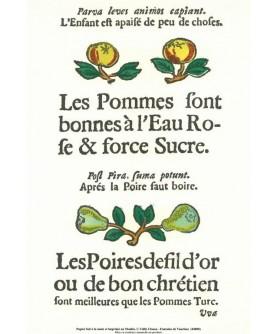"""copy of The """"Rôti-Cochons"""" - """"Les pommes et les poires"""""""