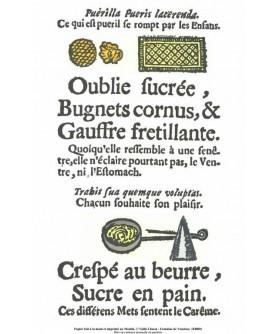 """The """"Rôti-Cochons"""" - """"Oublie sucrée"""""""