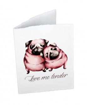 "Carte ""Love"" - Love me tender"