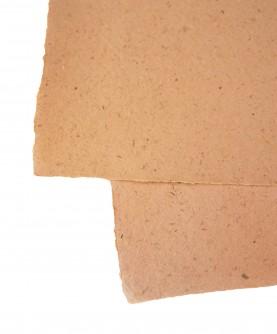 Ochre rice straw paper