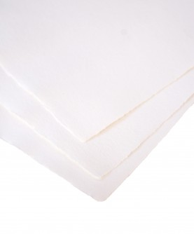 White cotton rag paper - small size