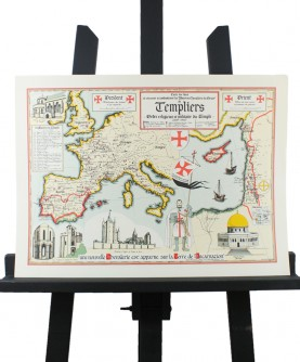 Map of the Templars