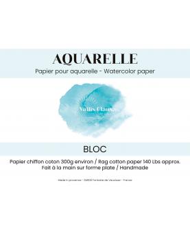 Bloc papier aquarelle