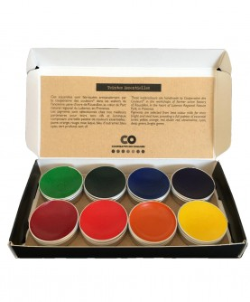 Handcrafted watercolors: teintes essentielles