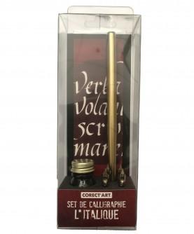 "Calligraphy set : ""l'italique"""