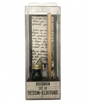 """Calligraphy set : """"Drawing and writing"""""""