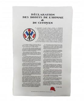 Rights of Man declaration
