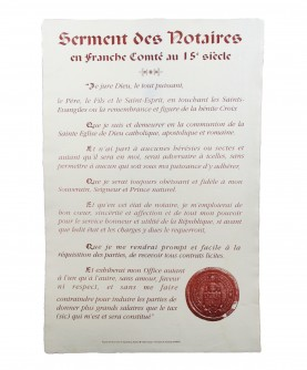 Oath of the Notaries