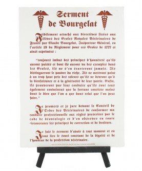 Oath of the Veterinarians (Bourgelat)
