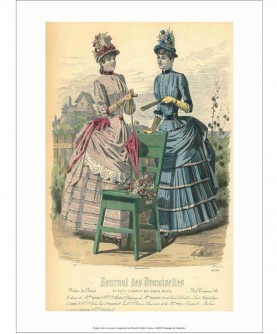 Ladies with chair