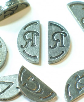 Cachet double initiale
