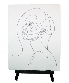 Affiche Line art Femme 4