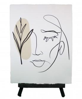Line art poster Woman 10