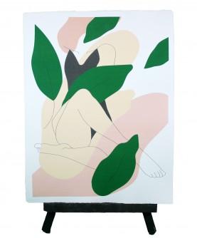 Affiche Line art Femme 12