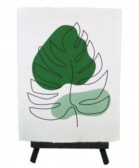Line art poster Vegetal 9