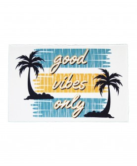 Carte Citation positive 6 : Good vibes only