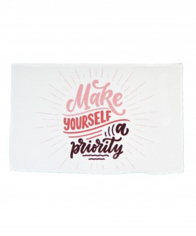Positive Quote Card 4 : Make yourself a priority